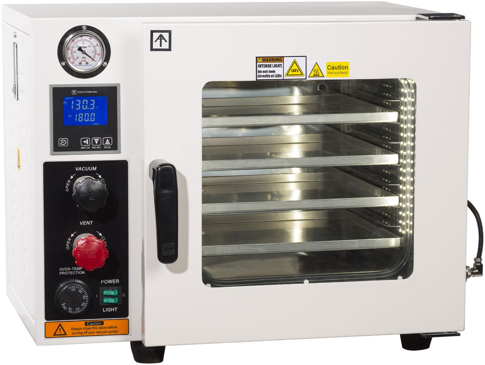 Ulcsa Certified 09 Cf Vacuum Oven 5 Sided Heat Sst Tubingvalves