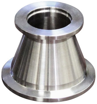 KF40 Flange vacuum conical reducer Stainless steel 304 Compatible with Vacuum Fittings to KF25 NW25 NW40