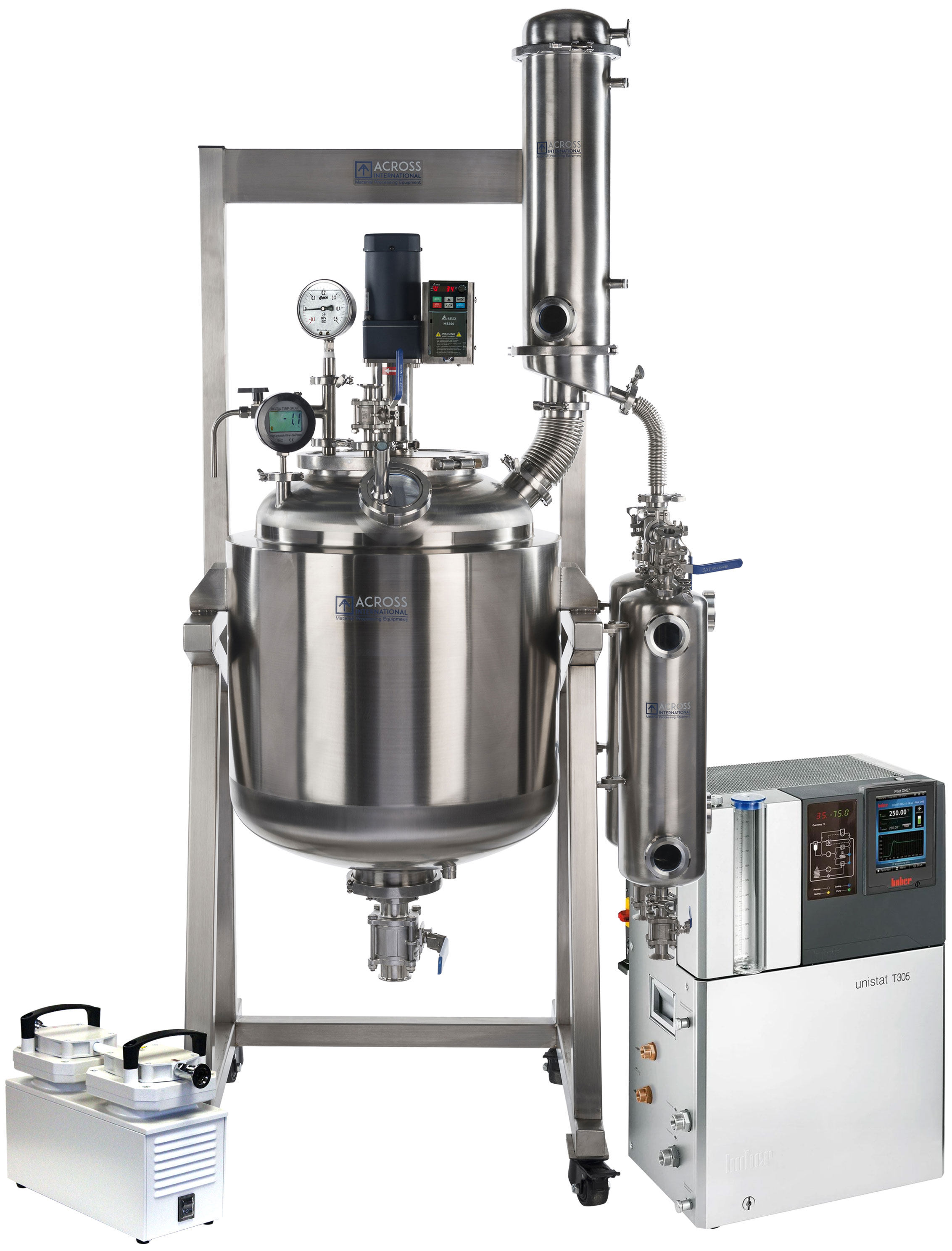 Ai Dual Jacketed 20L 20L SST Reactor Decarboxylation Package