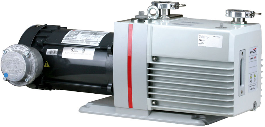 Welch 12 8 CFM CRVpro16 Explosion Proof Rotary Vane Vacuum Pump